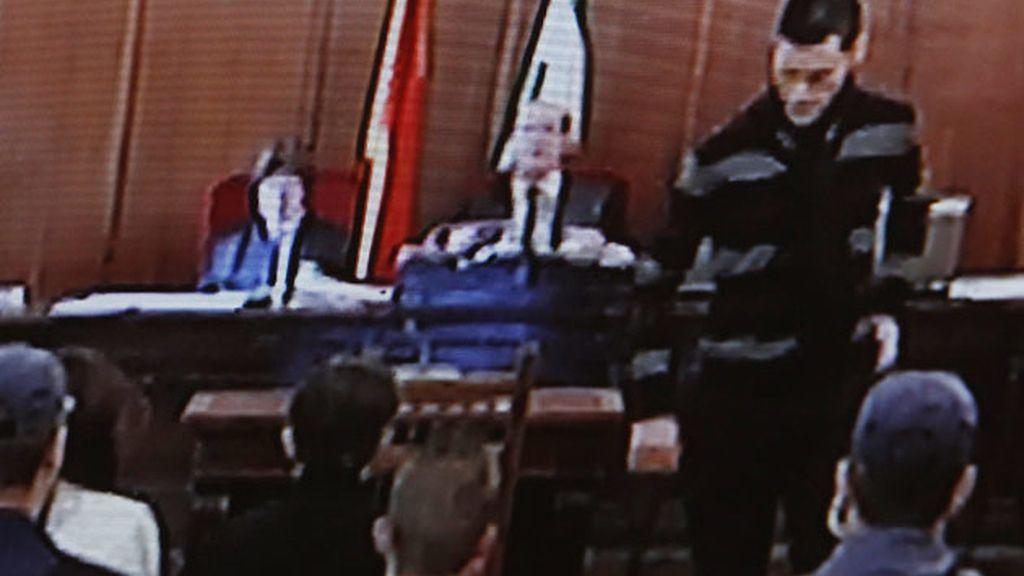 Samuel Benítez, ante el juez