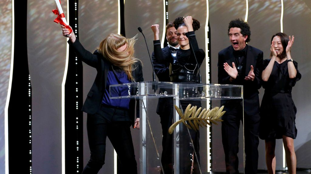 Ganadora del premio del jurado de Cannes