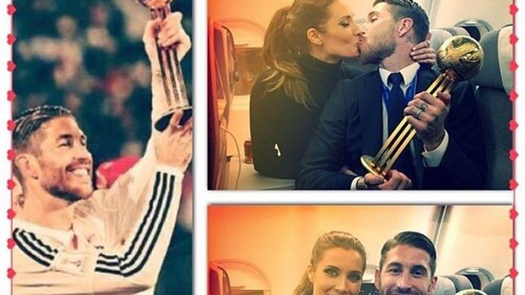 """Pilar Rubio y Sergio Ramos y su: """"2014, año inolvidable"""""""