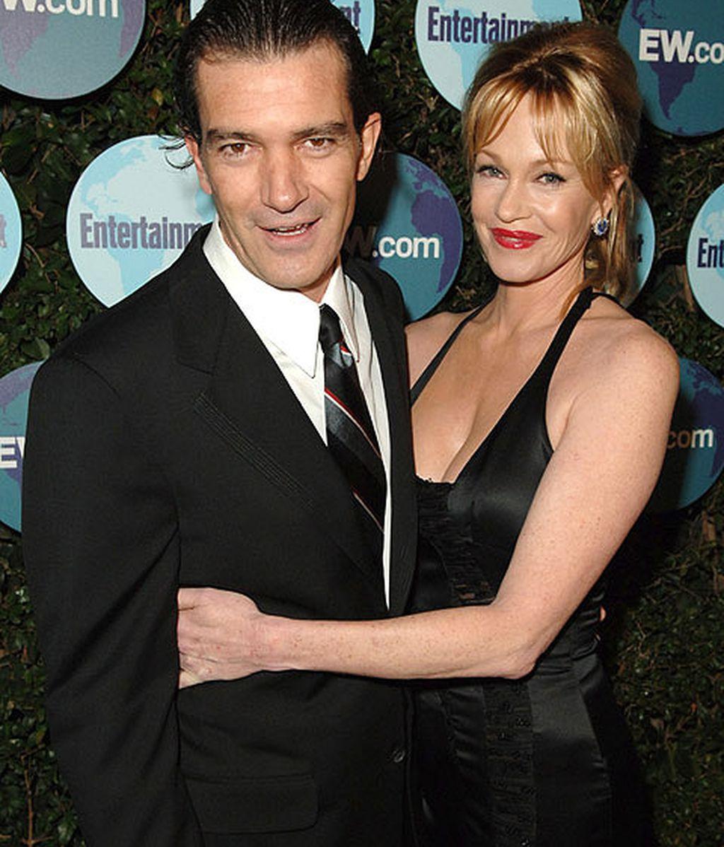 Antonio Banderas está casado con la actriz estadounidense, Melanie Griffith desde hace 18 años.