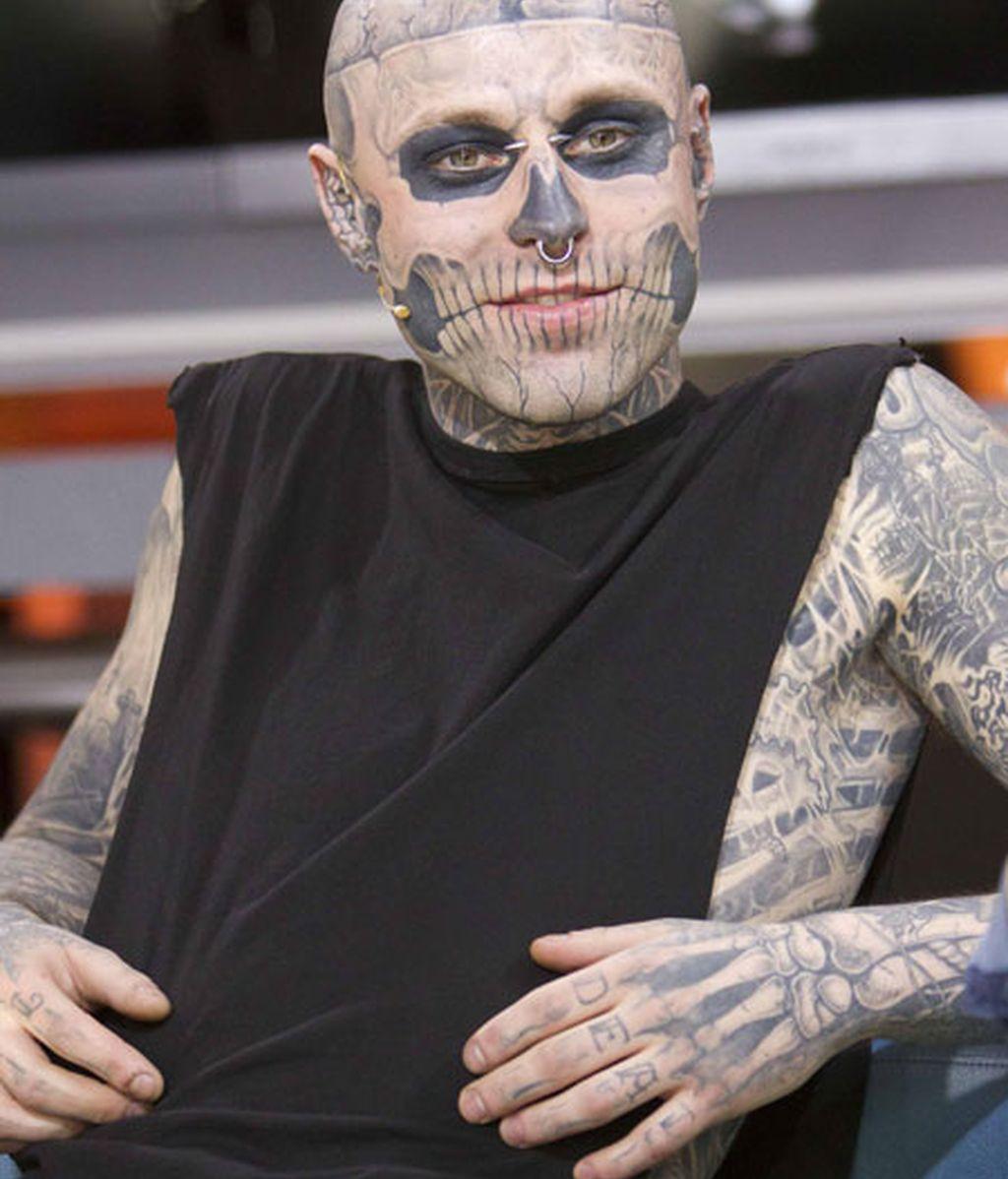 Zombie Boy para Thierry Mugler
