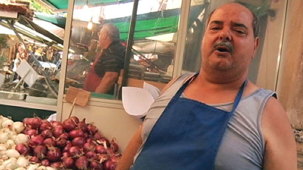 Mercado en Sicilia