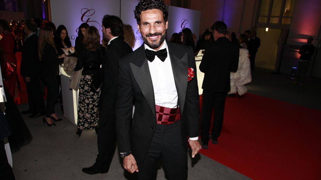 Óscar Higares fue uno de los presentadores de The Global Gift Gala