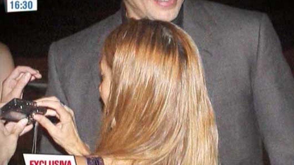 El primer encuentro de Isabel Sartorius y Benicio del Toro