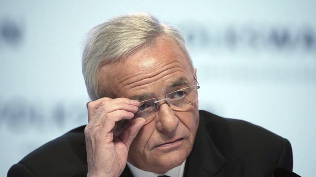 Martin Winterkorn, presidente ejecutivo del grupo Volkswagen