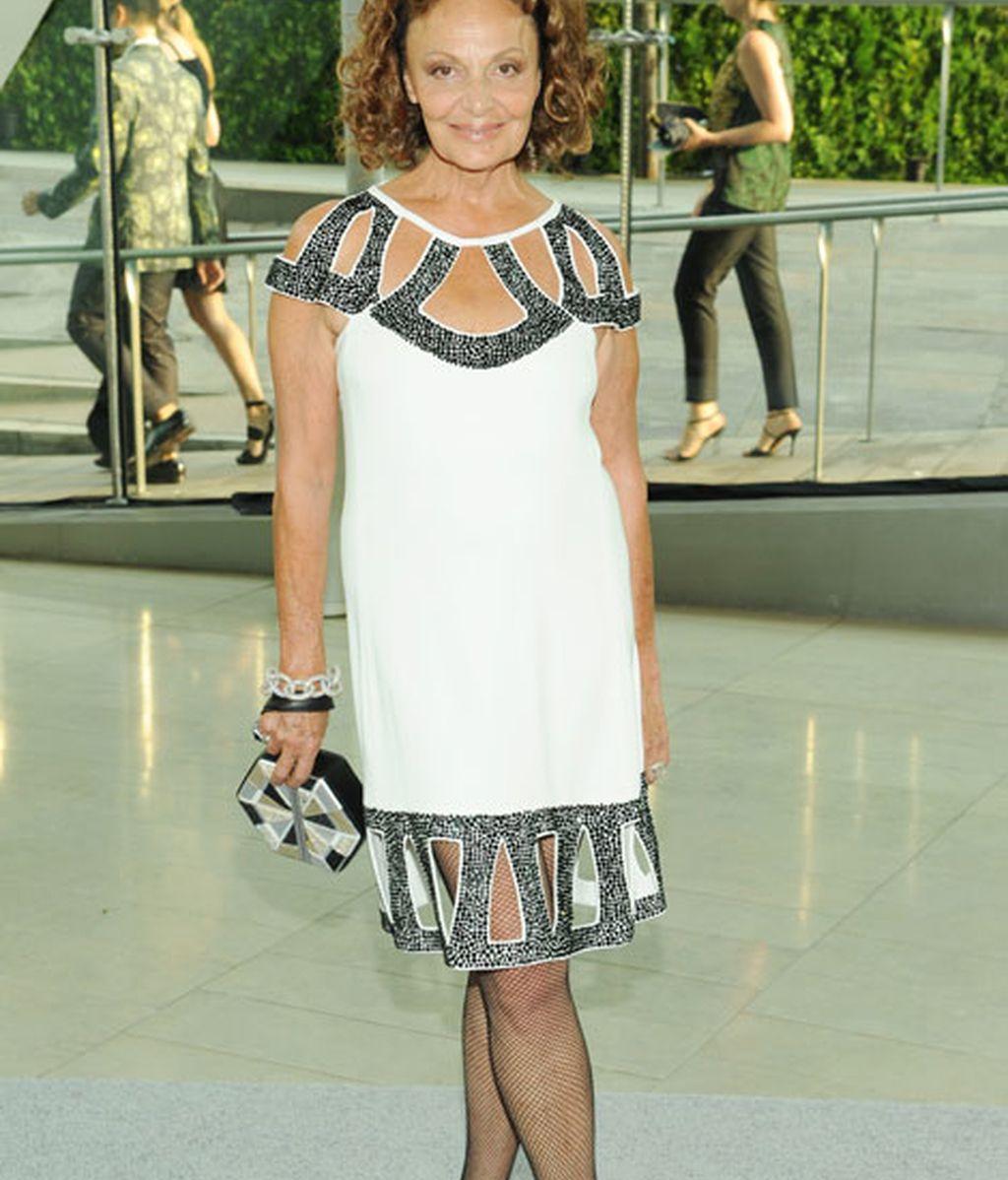 La diseñadora Diane Von Furstenberg
