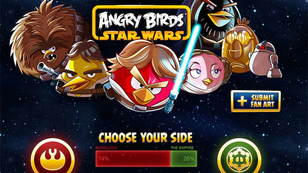Angry Birds Star Wars comic, teaser