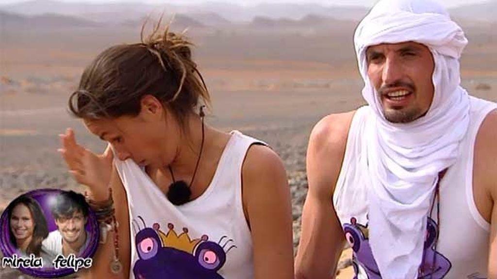 La pareja se enteró de que esperaba un hijo dos días antes de viajar a Marruecos