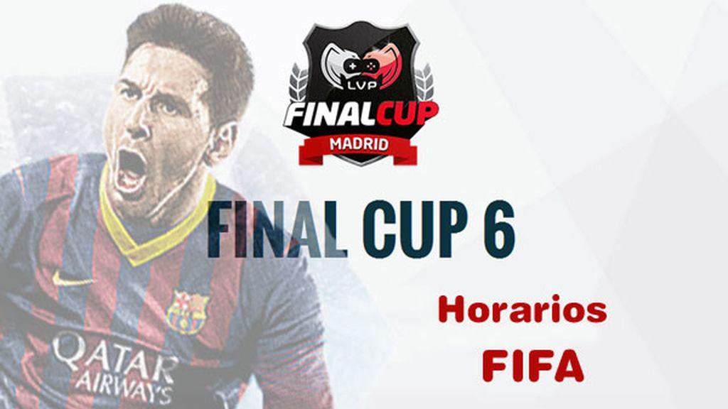 Final Cup 6, logo, horarios, FIFA