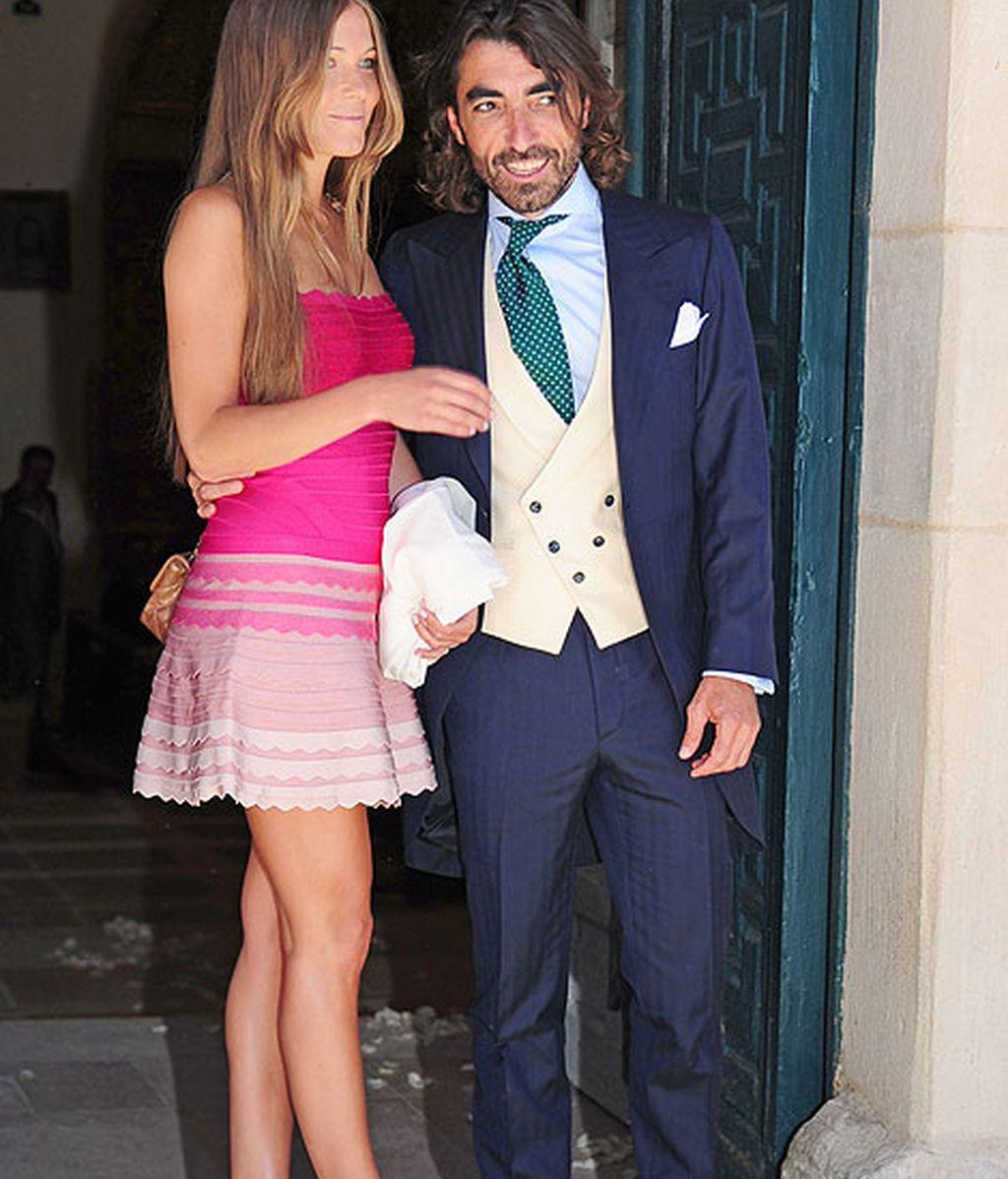 Javier Hidalgo estuvo acompañado por su actual pareja