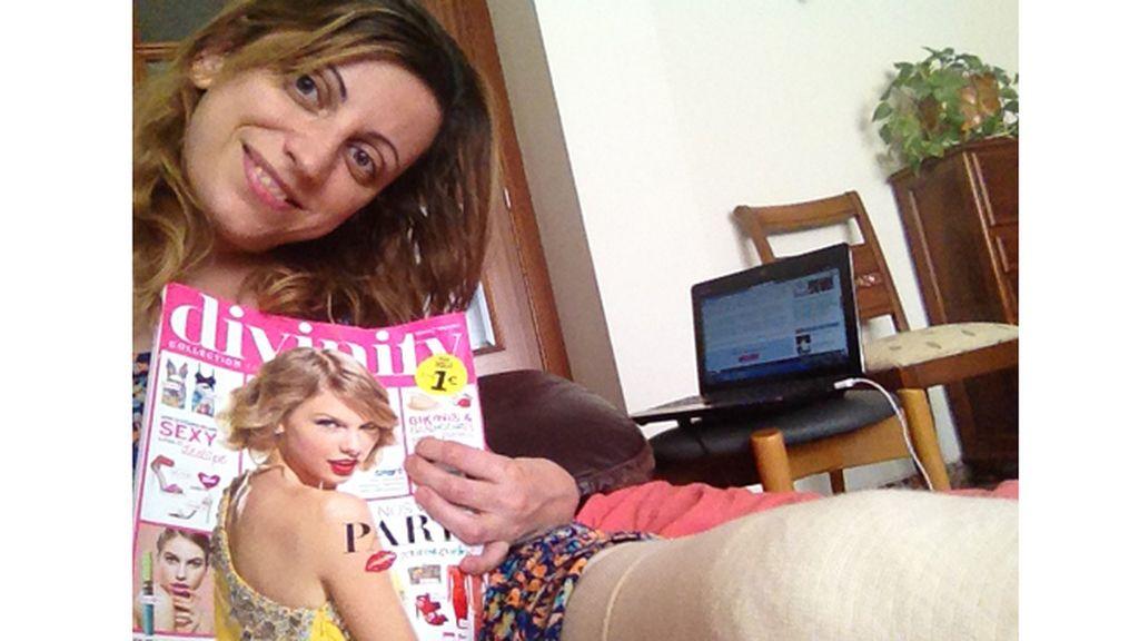 La foto de Cristina (Barcelona) para el concurso 'Envíanos tu selfie con la Revista Divinity'