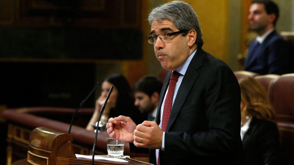 El portavoz de Democracia y Libertad (DL) en el Congreso, Francesc Homs
