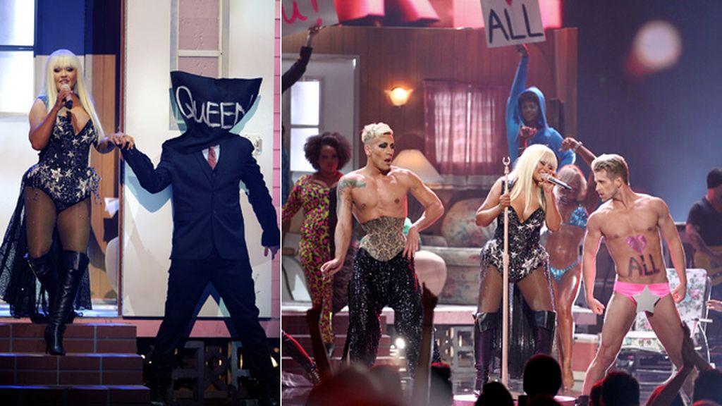 Christina Aguilera, la 'reina de la pista'