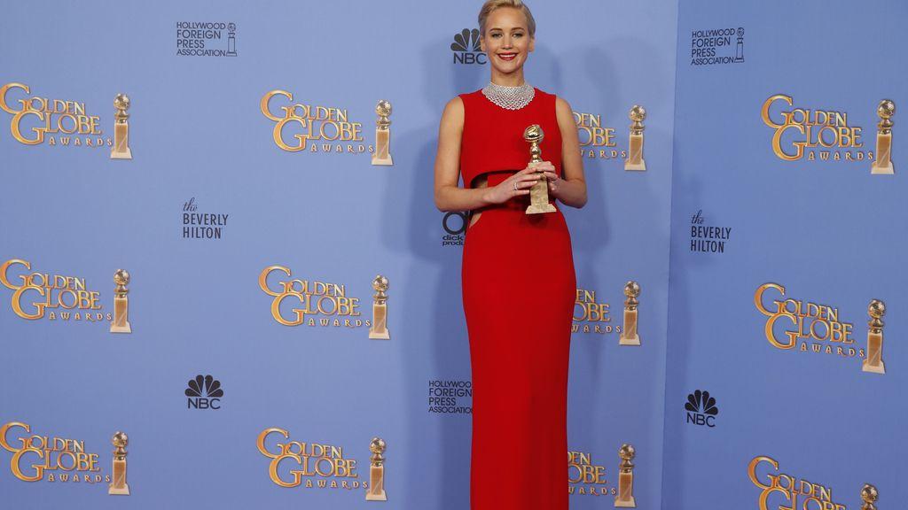Jennifer Lawrence tras recibir el galardón