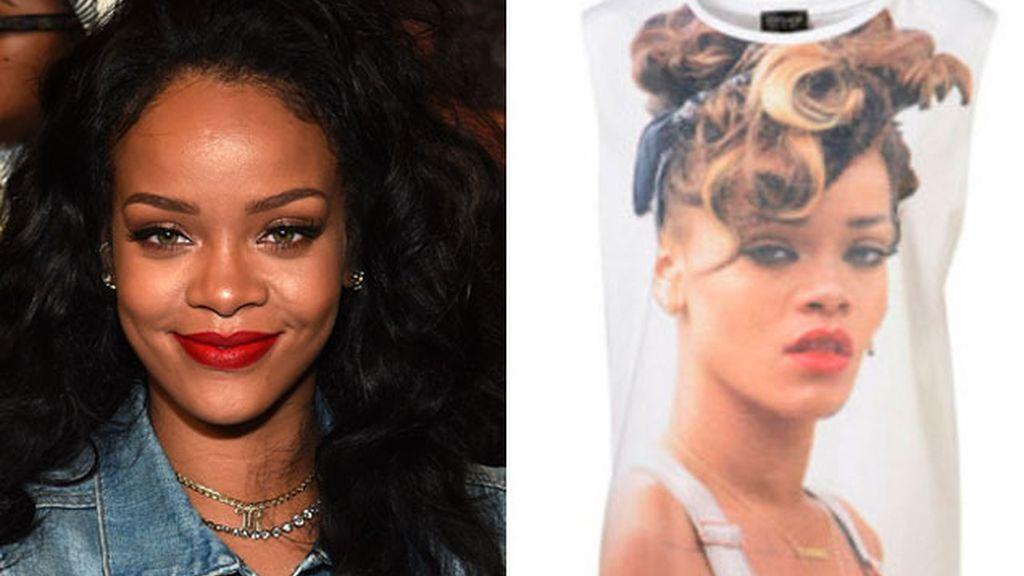 Esta es la camiseta de Topshop que ha enfurecido a Rihanna.