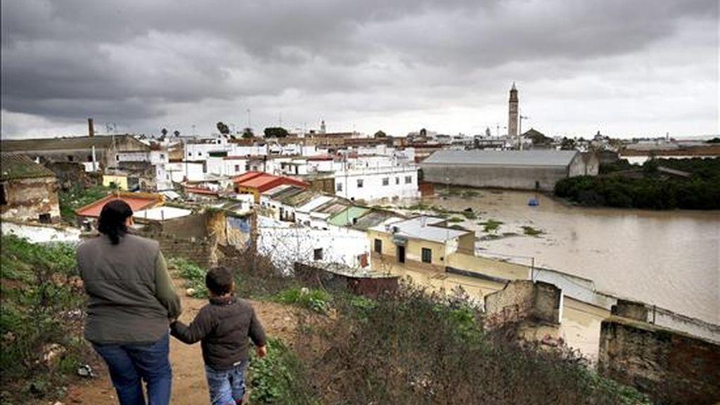 Vista de Lora del Río (Sevilla). EFE