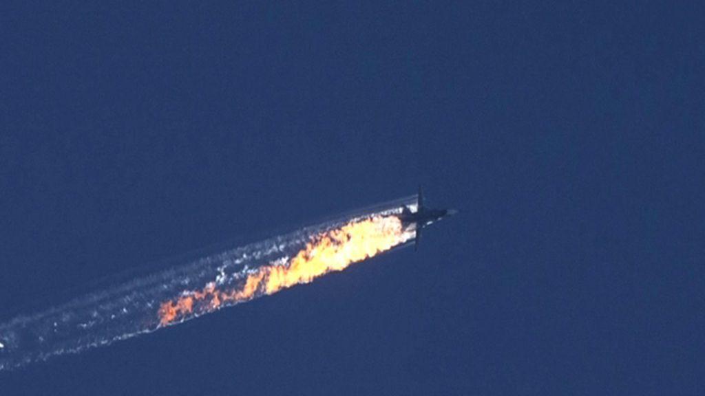 Turquía derriba un avión ruso
