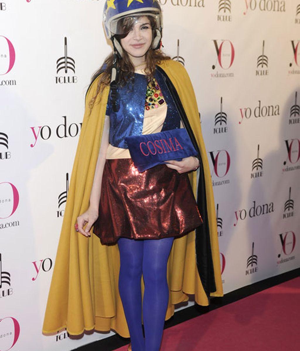 Cósima Ramírez Ruiz de la Prada acudió con un diseño peculiar