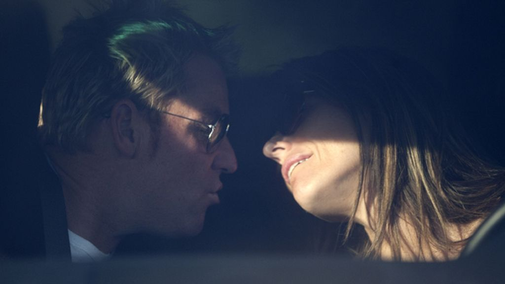 Liz Hurley y Shane Warne