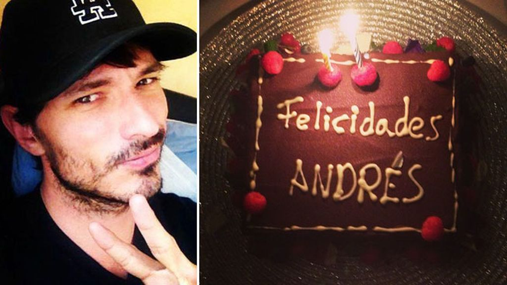 Andrés Velencoso, Kylie Minogue, cumpleaños