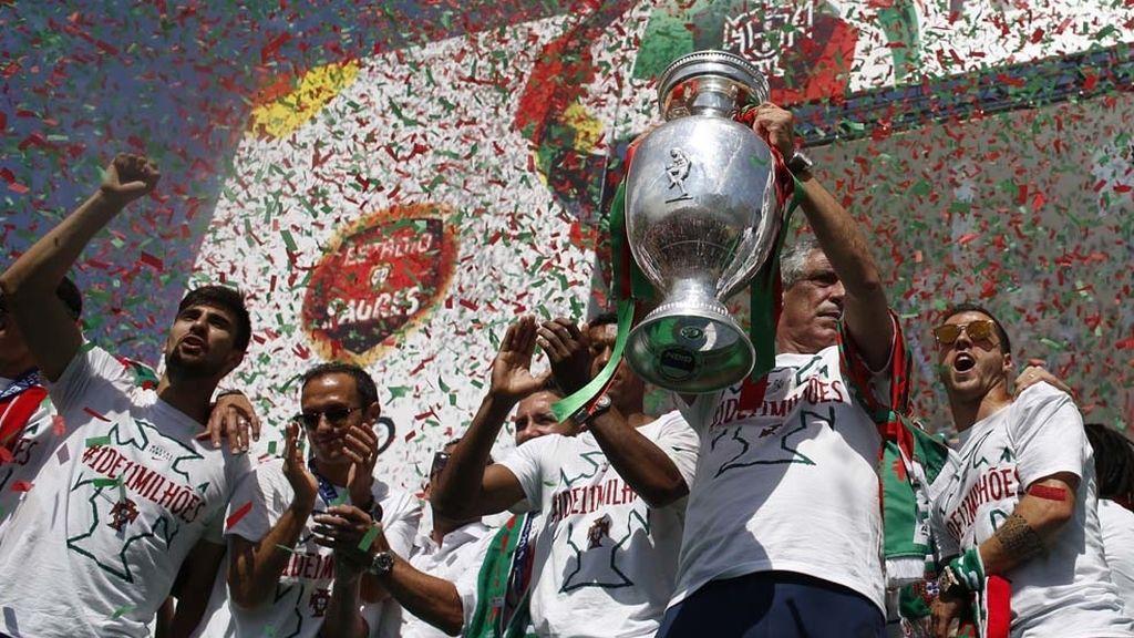 Portugal, campeona de la Eurocopa