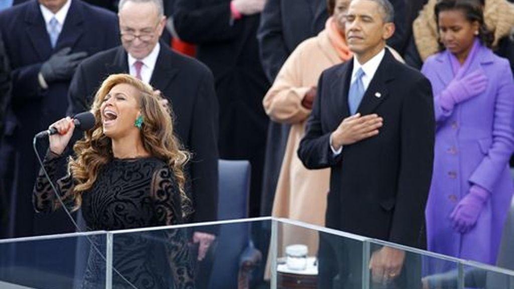 Beyonce reconoce que cantó en 'playback' en la investidura de Obama