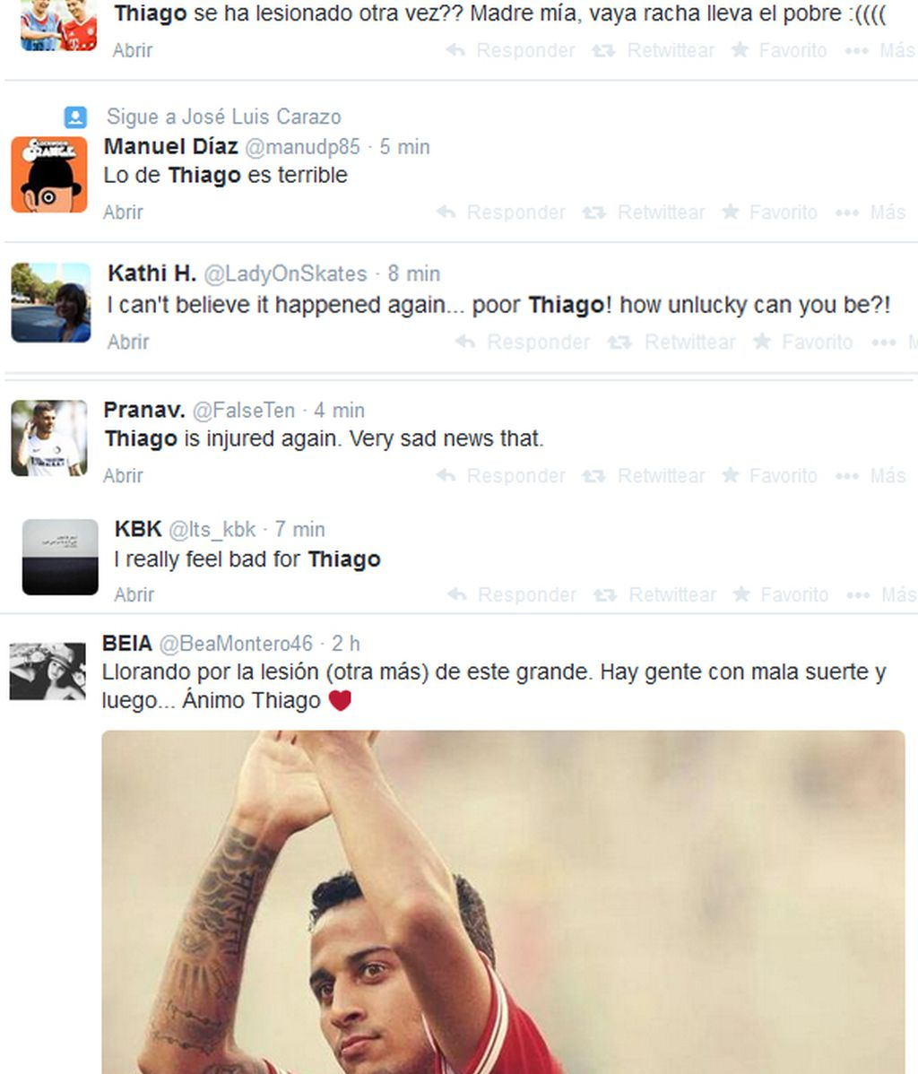 Grada Twitter Thiago