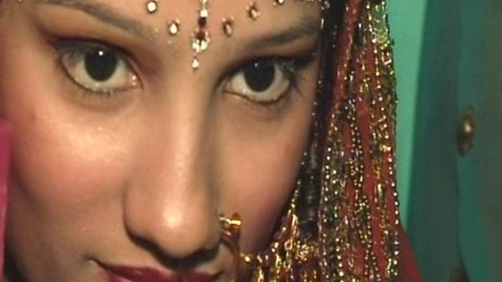 Delhi. Preparativos de una boda India