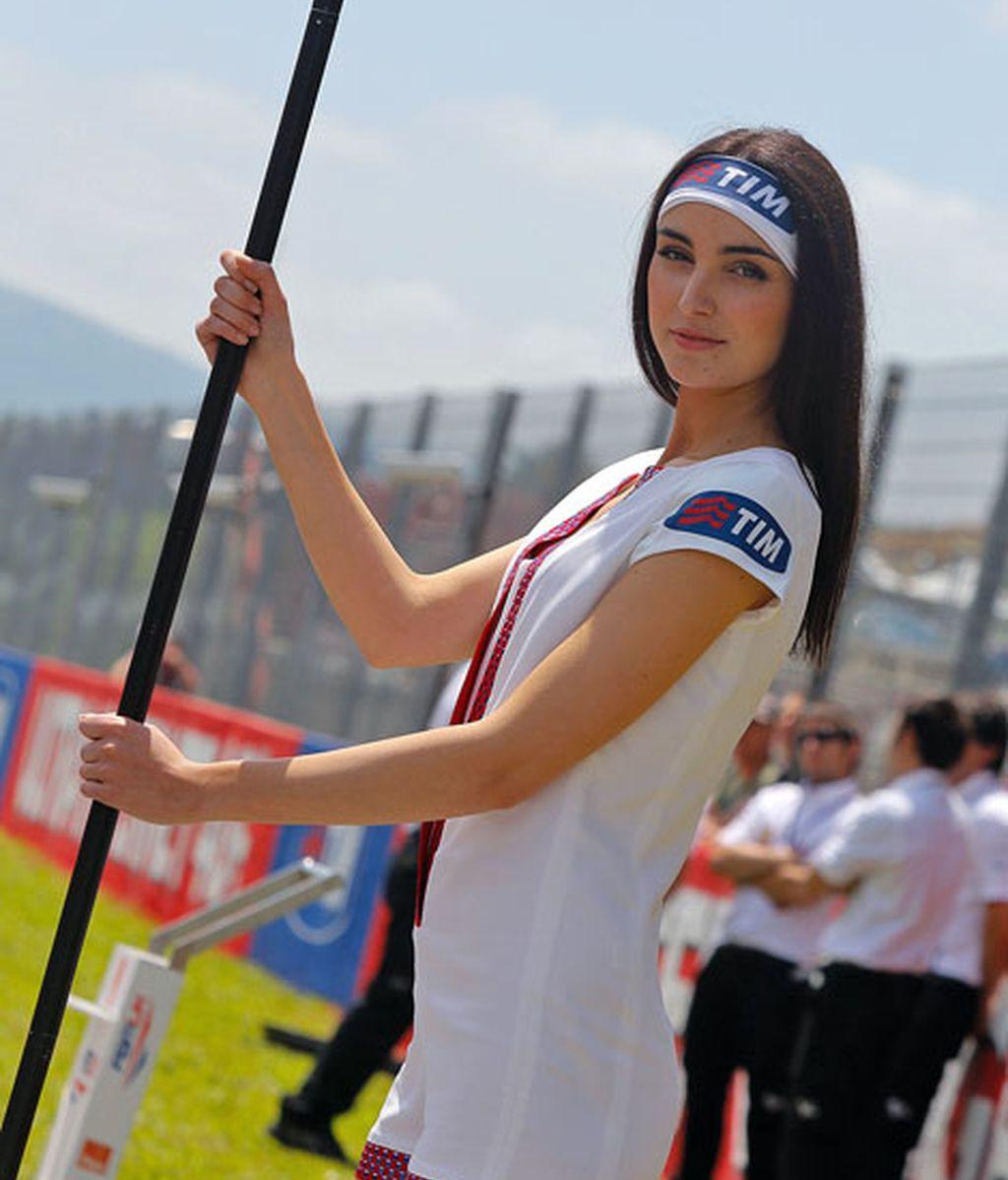 Las chicas del Paddock del GP de Italia