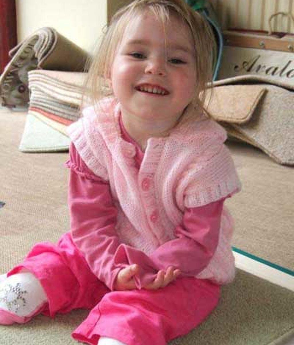 Olivia nunca perdió la sonrisa