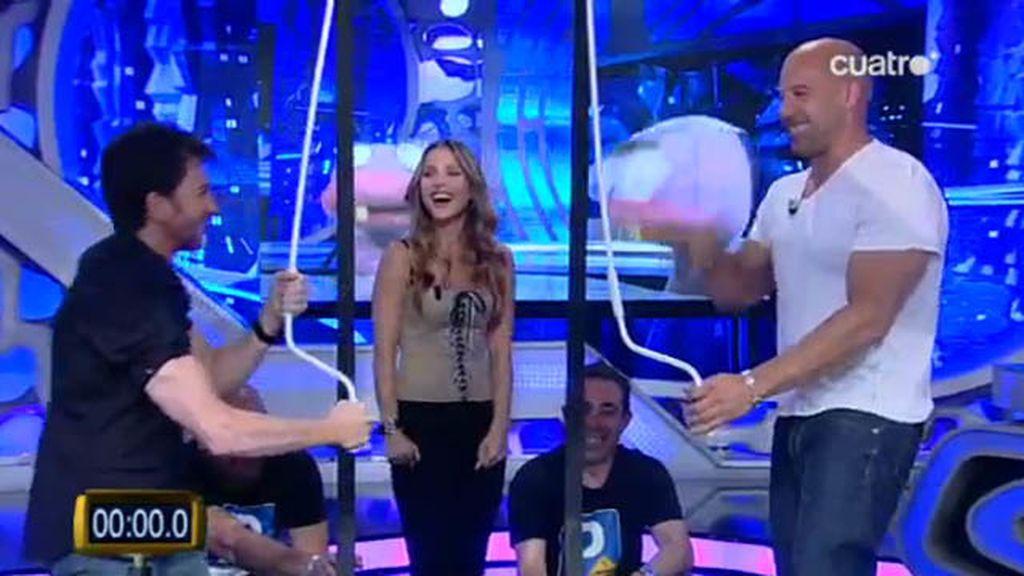 Tolding El Hormiguero Vin Diesel y Elsa Pataky