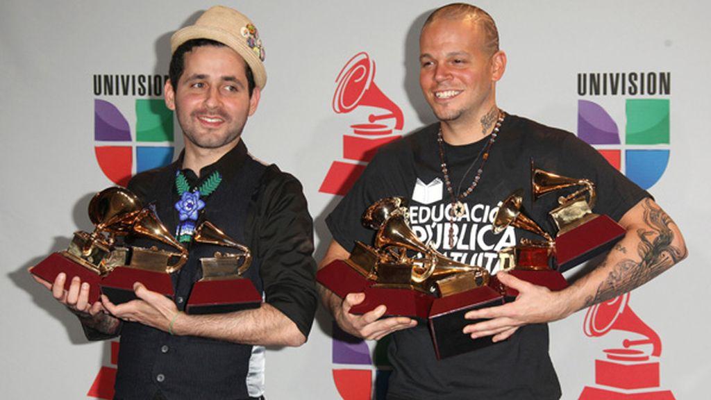 Calle 13 arrasa con nueve premios