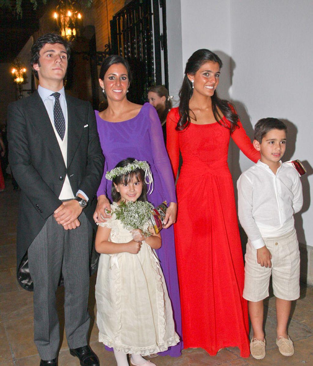Los más jóvenes de la boda