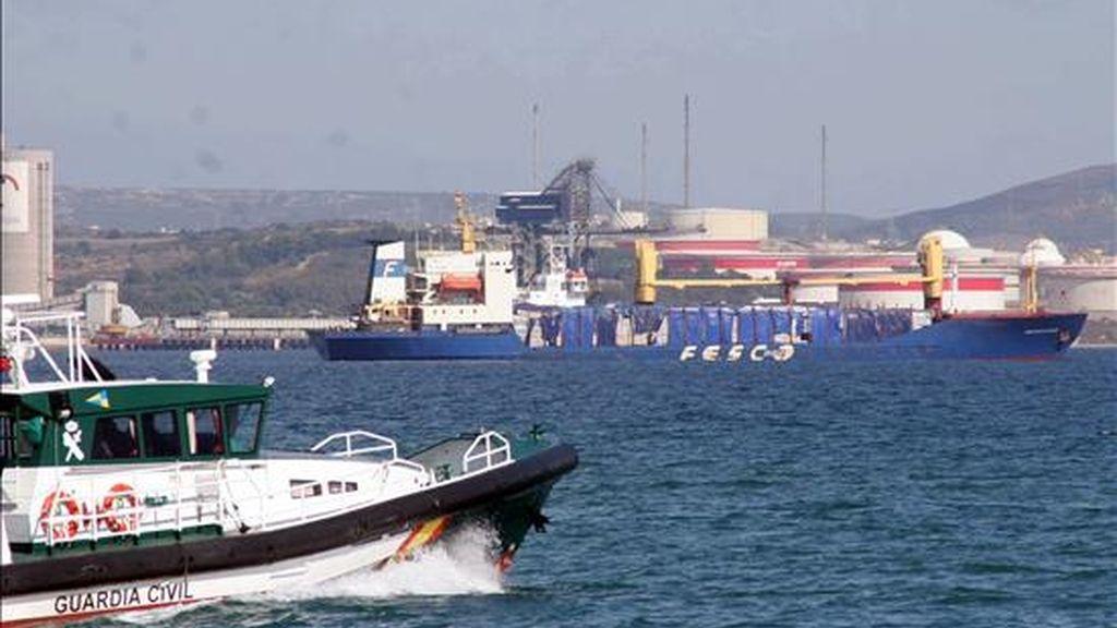 Vista del puerto de Algeciras (Cádiz). EFE/Archivo
