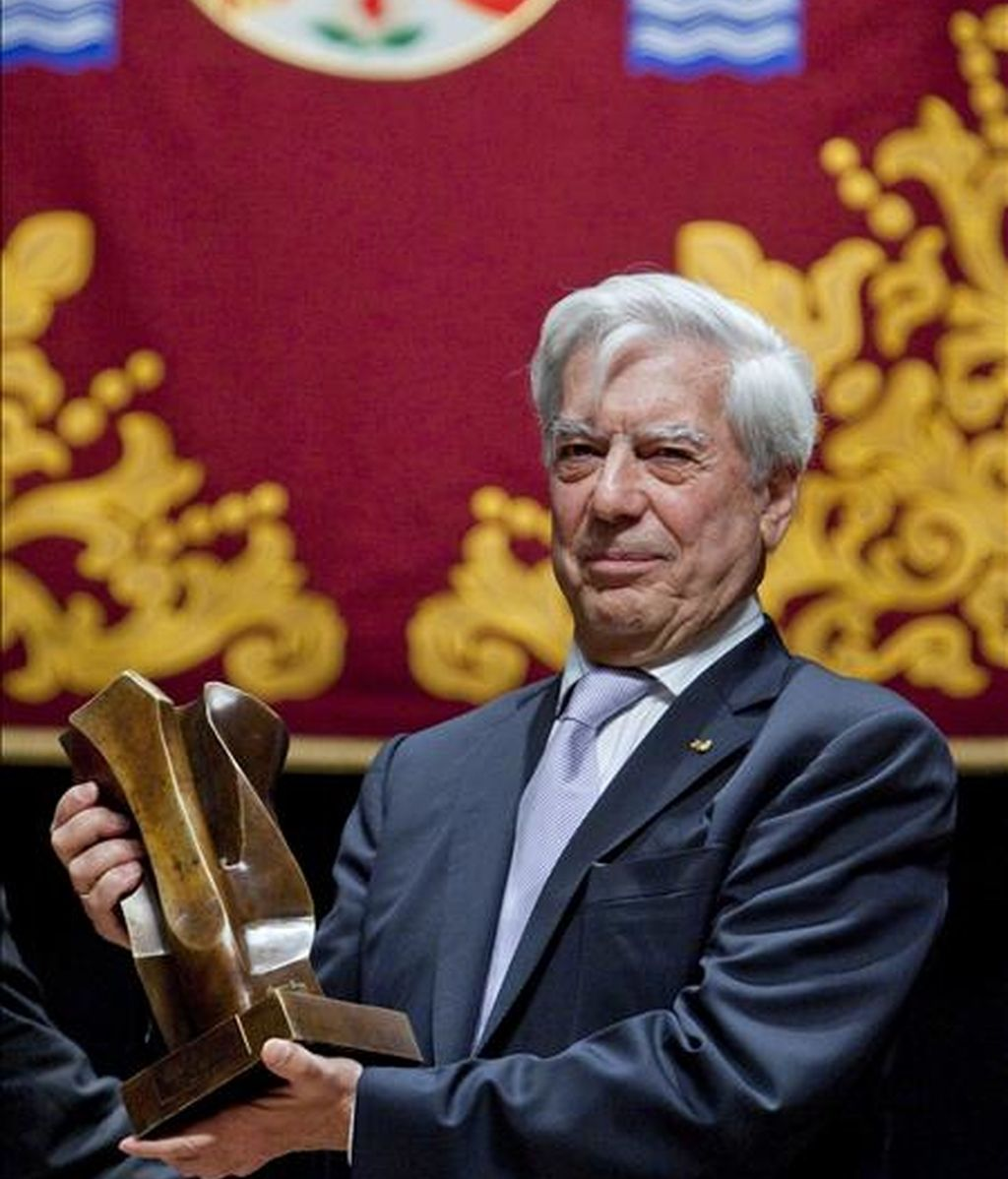 El Premio Nobel de Literatura 2010, Mario Vargas Llosa. EFE/Archivo