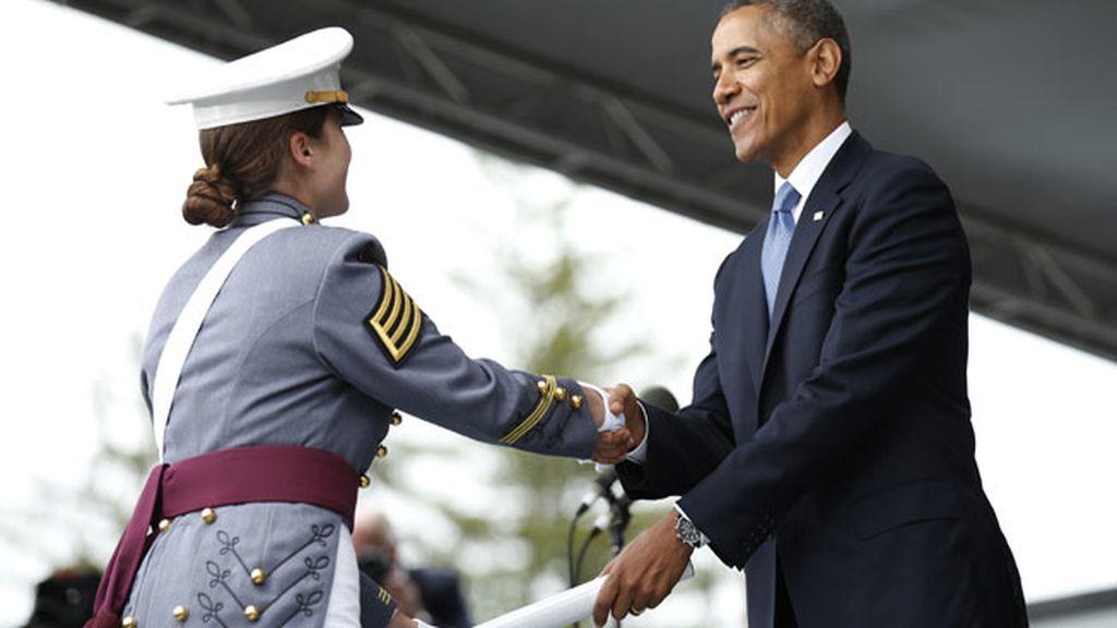 """Obama aboga por la desmilitarización tras """"una larga temporada de guerras"""""""