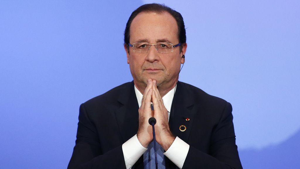 Hollande anuncia que habrá 1.600 militares franceses en República Centroafricana