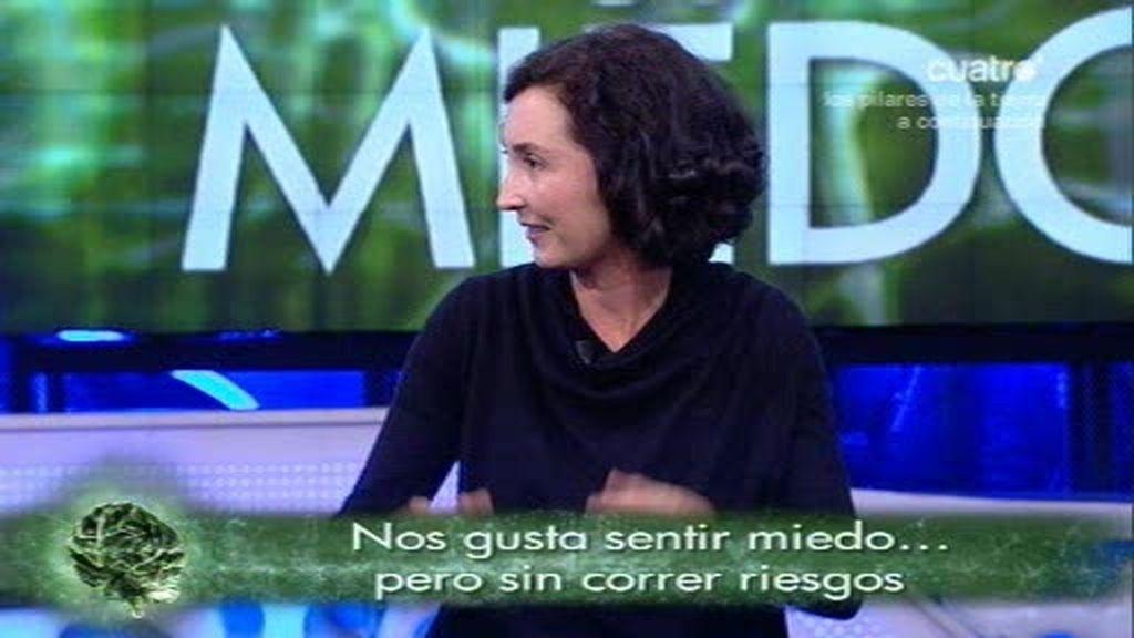 Elsa Punset analiza el miedo en El Hormiguero
