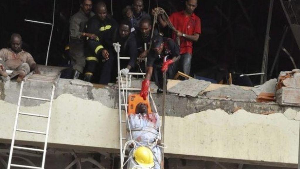 Atentado contra el edificio de la ONU en Nigeria