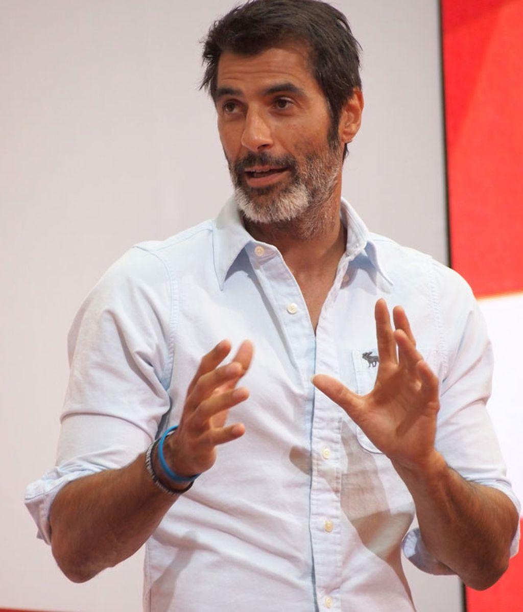 Jorge Fernández, otro de los presentadores del acto