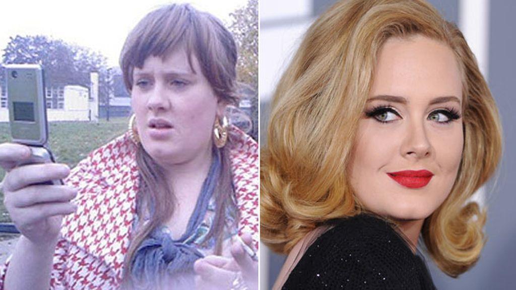 Adele, antes y después
