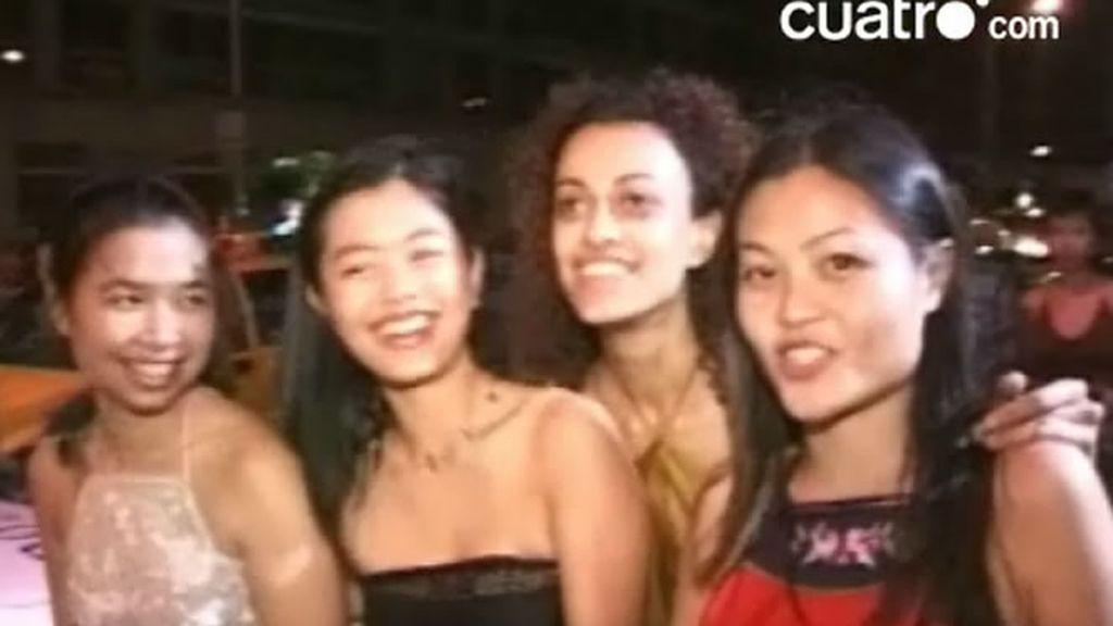 De fiesta con las chicas