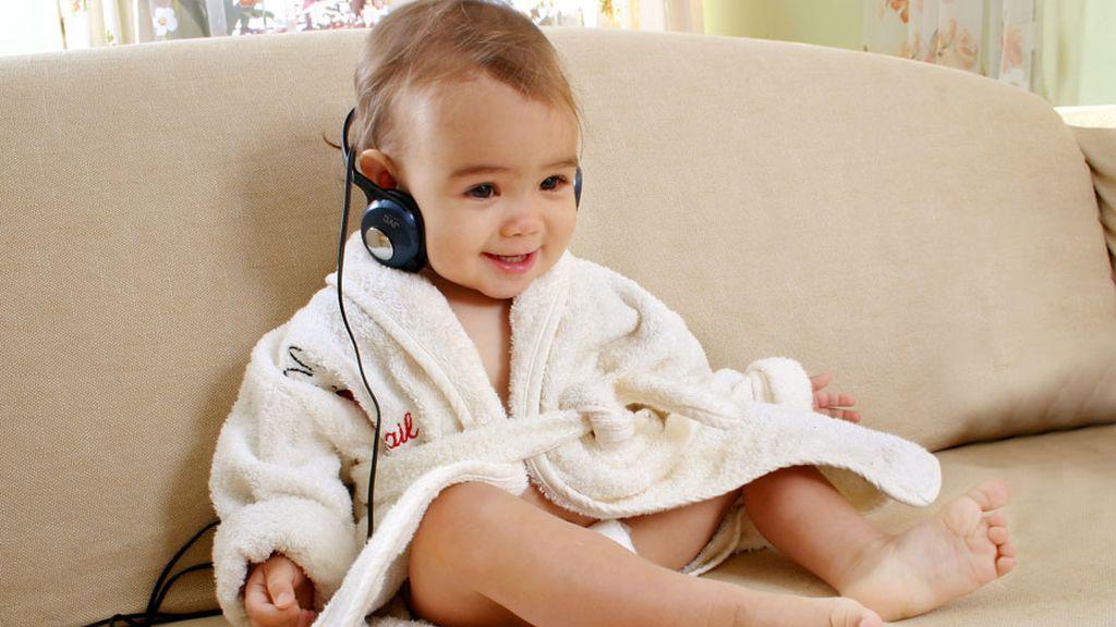 La música tranquiliza más a los niños que el habla