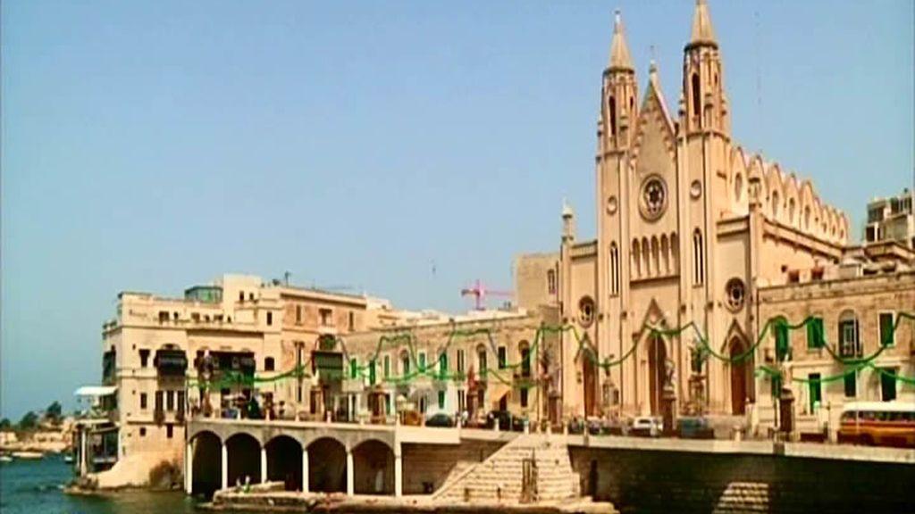En Malta son muy católicos... ¡iglesias por todas partes!