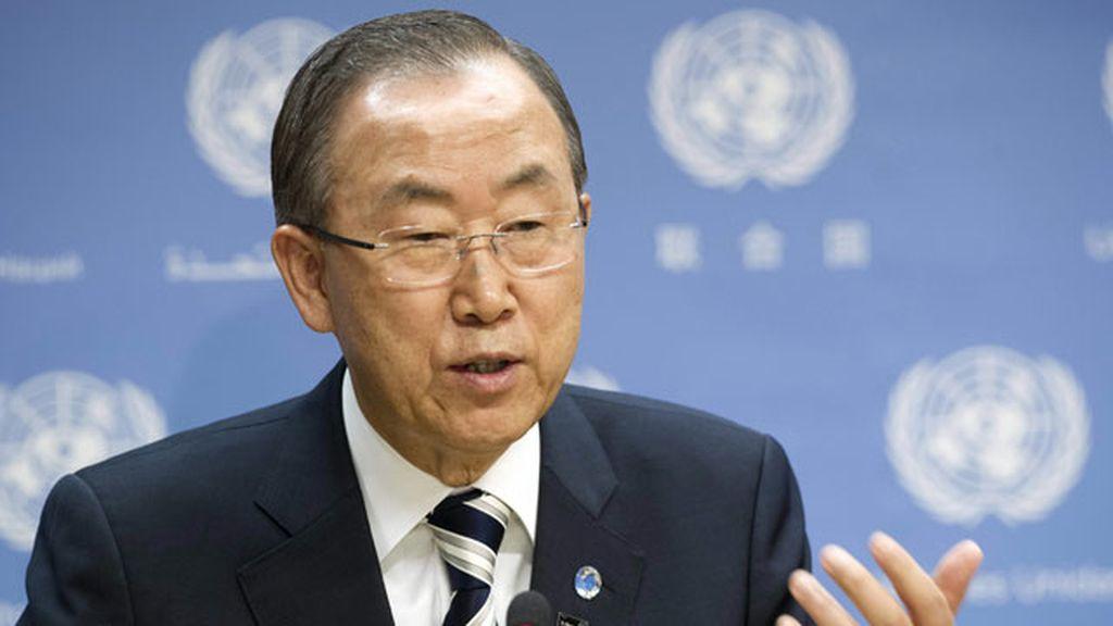 Ban Ki Moon en la ONU