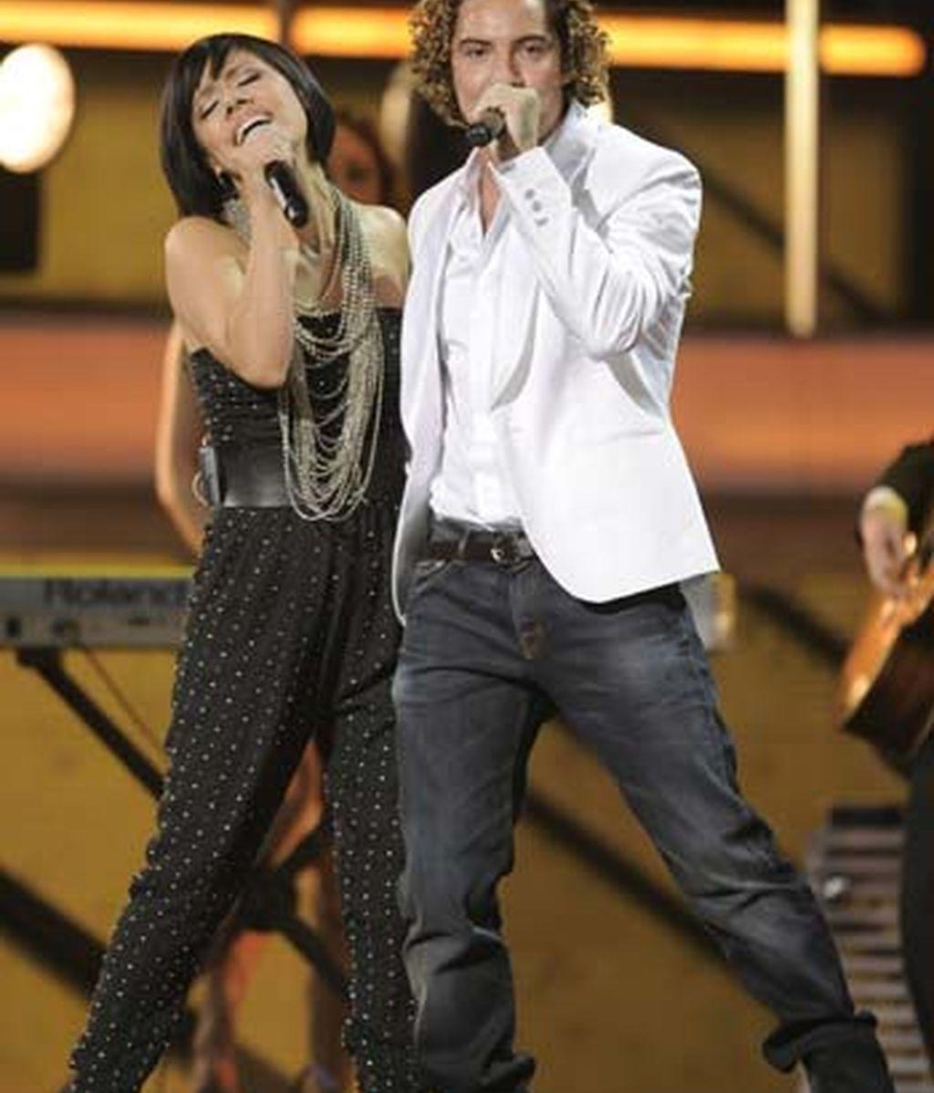 Bisbal en los Grammy Latinos
