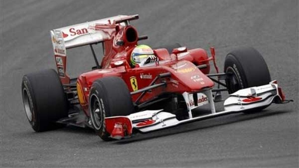 Massa confirma las buenas sensaciones de Ferrari