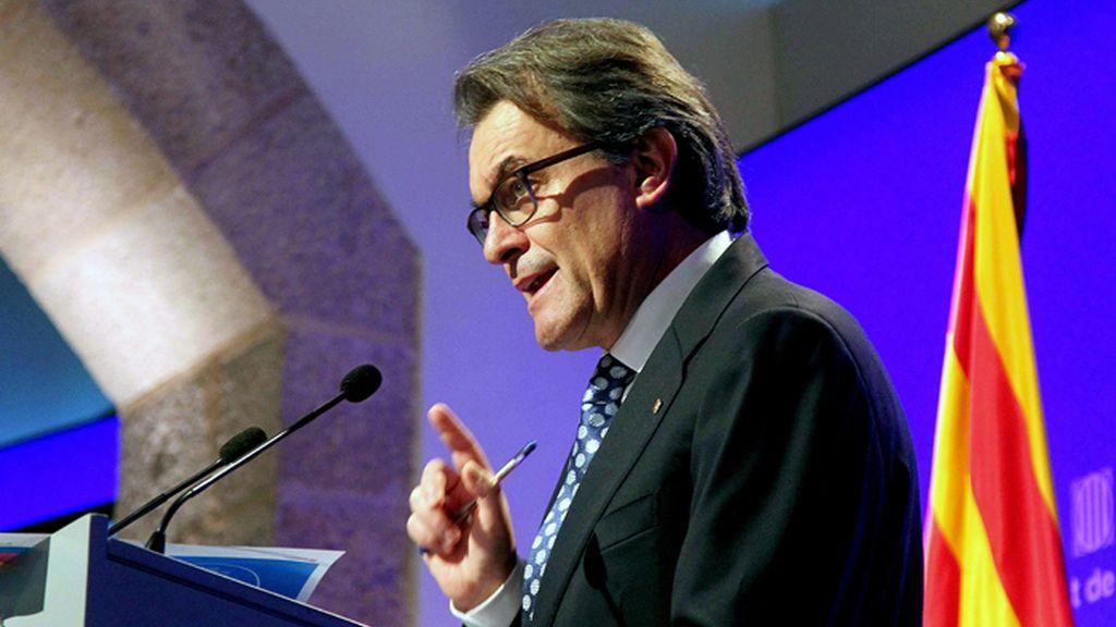 Mas anunciará el próximo jueves si decide adelantar las elecciones catalanas