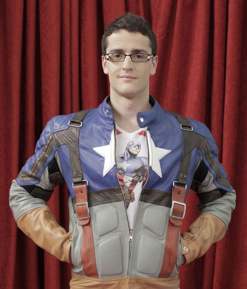 Andrés, 'Capitán America'