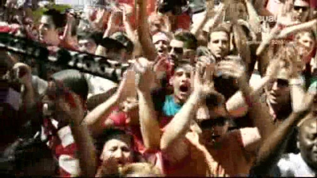 La fiesta del Granada, desde dentro